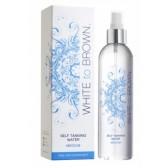 WHITETOBROWN Zelfbruiner Self Tanning Water - Medium (250 ml) + Handschoen Actie